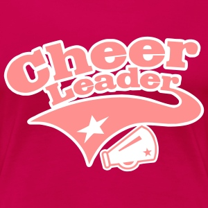 cheer leader T-Shirts - Frauen Premium T-Shirt
