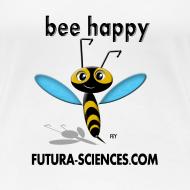 Motif ~ Abeille Bee happy femme blanc
