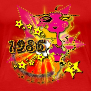 Geburtstag 1986 Happy Birthday Shirt Design - A star is born T-Shirts - Frauen Premium T-Shirt