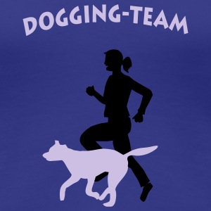 Dogging-Team - Frauen Premium T-Shirt
