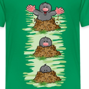 Happy Mole Kinder T-Shirts - Teenager Premium T-Shirt