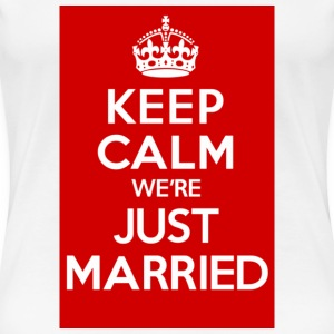 Just Married Red - Women's Premium T-Shirt