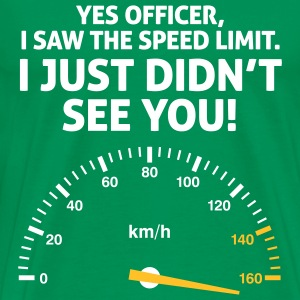 Speed Limit 1 (2c)++ T-Shirts - Männer Premium T-Shirt