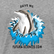 Motif ~ Save dauphin gris homme