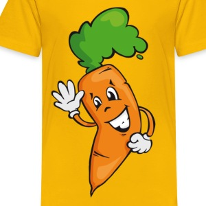 happy carrot - Camiseta premium adolescente