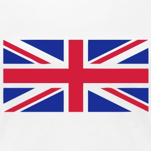 flag english drapeau anglais union Jack Tee shirts - T-shirt Premium Femme