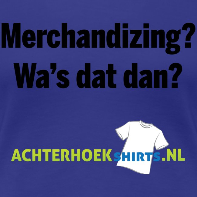 Merchandizing?