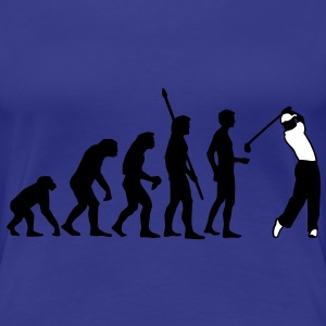 evolution_golf_b_2c Tee shirts - T-shirt Premium Femme