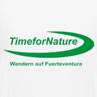Motiv ~ Herren-Shirt von 3XL-5XL mit TimeforNature-Logo rückseitig