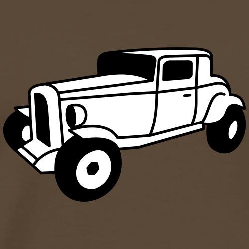 2 color Oldtimer Hot Rod Straßenkreuzer Rock and Roll Custom Car