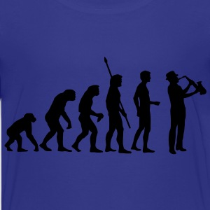 evolution_saxophon_a_1c Shirts - Teenage Premium T-Shirt