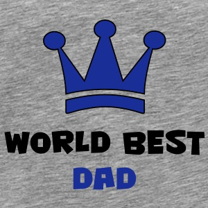 World Best Dad T-Shirts - Men's Premium T-Shirt