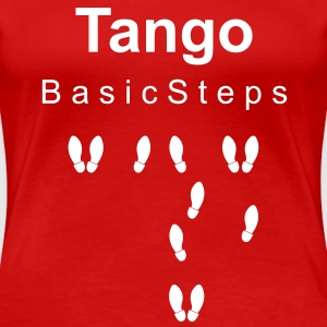 Tango Basic Steps T-Shirts - Frauen Premium T-Shirt