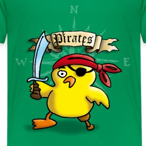 pirate_chick_p Shirts - Teenage Premium T-Shirt