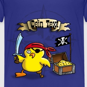 pirate_chick_f Shirts - Teenage Premium T-Shirt