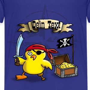 pirate_chick_f T-shirts - Teenager premium T-shirt