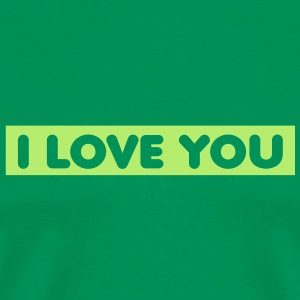 i_love_you_quotation_1c T-shirts - Mannen Premium T-shirt