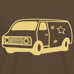 hippie van seventies T-Shirts - Men's Premium T-Shirt
