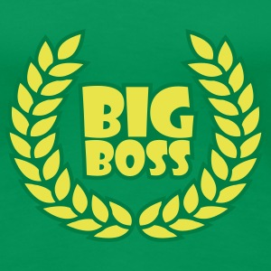 big_boss_wreath_2c T-shirts - Premium-T-shirt dam
