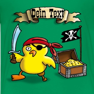 pirate_chick_b Shirts - Teenage Premium T-Shirt