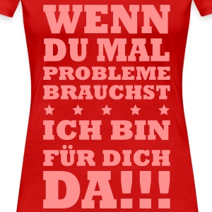 Problem Freund Buddy Fun T-Shirts - Frauen Premium T-Shirt