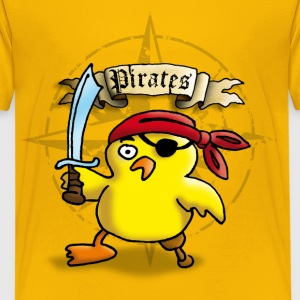 pirate_chick_o Skjorter - Premium T-skjorte for tenåringer