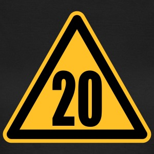 Warning 20 | Achtung 20 T-Shirts - T-skjorte for kvinner