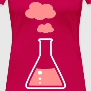 Erlenmeyer fiole - chimie Tee shirts - T-shirt Premium Femme