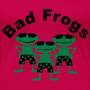bad frogs T-skjorter - Premium T-skjorte for kvinner