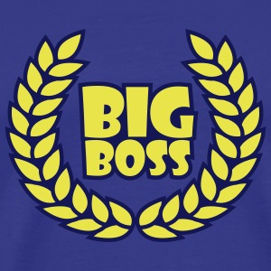 big_boss_wreath_2c T-shirts - Premium-T-shirt herr