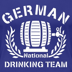GERMAN NATIONAL DRINKING TEAM - Frauen Premium T-Shirt