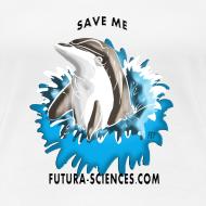 Motif ~ Save dauphin femme blanc