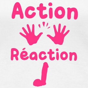 action reaction Tee shirts - T-shirt Premium Femme