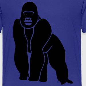 gorilla ape monkey king kong godzilla silver back orang utan Kids' Shirts - Teenage Premium T-Shirt