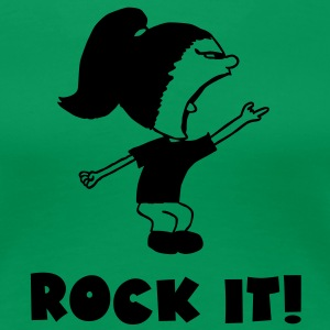 Rock it ! - Frauen Premium T-Shirt
