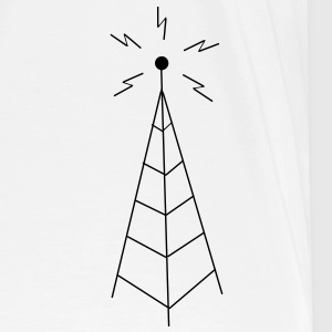 Transmission Tower Sendemast T-shirts - Herre premium T-shirt
