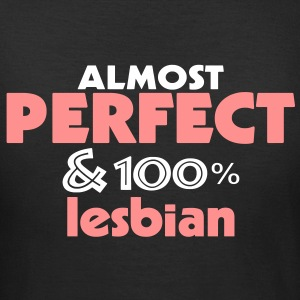 almost perfect and lesbian (2c) T-Shirts - T-shirt dam