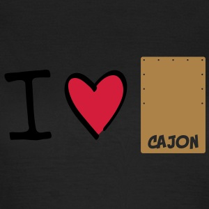 I love Cajon T-Shirts - Frauen T-Shirt