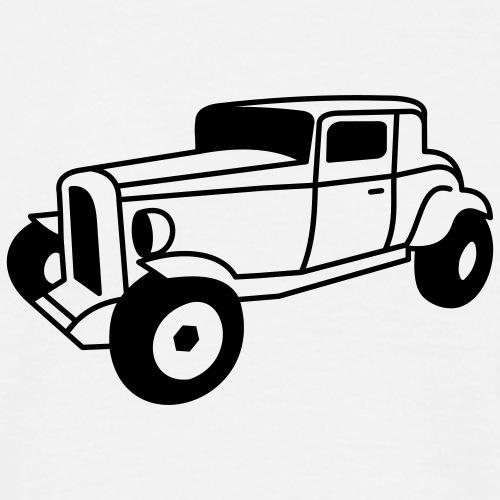 1 color Oldtimer Hot Rod Straßenkreuzer Rock and Roll Custom Car