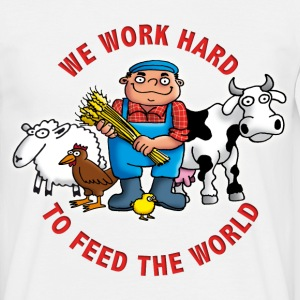 farmers_102011_e T-shirts - Herre-T-shirt
