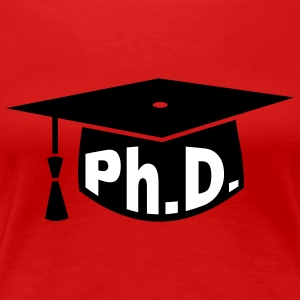 Graduation Party - PhD - Gift T-Shirts - Women's Premium T-Shirt