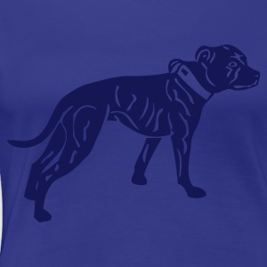 www.dog-power.nl - Dame premium T-shirt