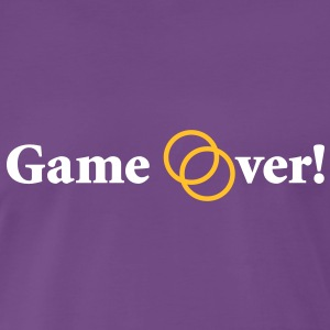 Game over! Married now. - Männer Premium T-Shirt