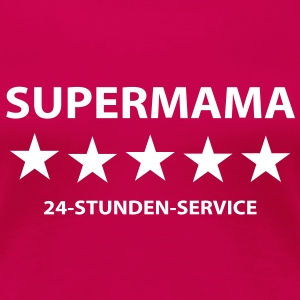 Supermama T-Shirts - Frauen Premium T-Shirt
