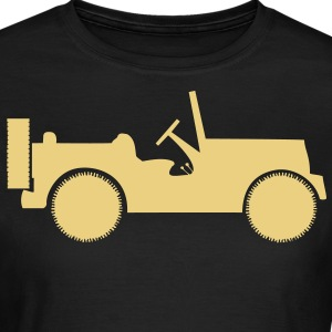 military jeep car T-shirt - Maglietta da donna