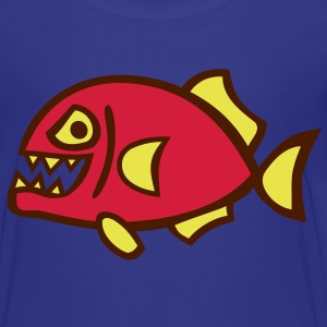 Piranha Kinder T-Shirts - Teenager Premium T-Shirt