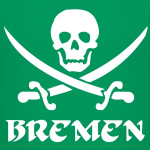 bremen totenkopf pirat Kinder T-Shirts - Teenager Premium T-Shirt