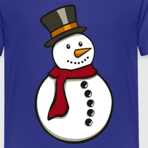 Snowman - Teenager Premium T-Shirt