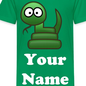 Hissy The Snake - Teenage Premium T-Shirt