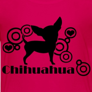 chihuahua_circle1 Kids' Shirts - Teenage Premium T-Shirt